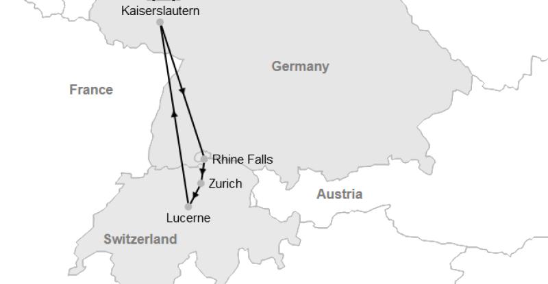 Kaiserslautern – Switzerland