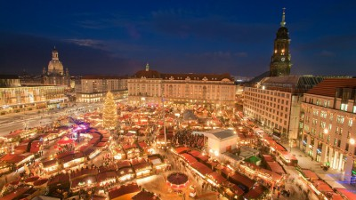 Departure Graf: Dresden Christmas Market