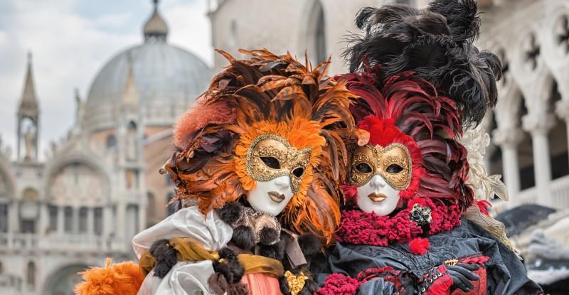 Carneval mask in Venice – Venetian Costume