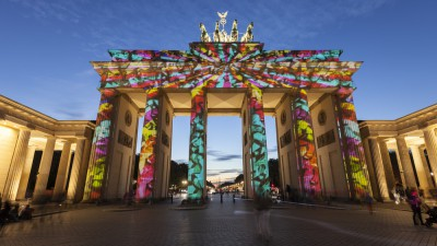 Departure Graf: Berlin Festival of Lights