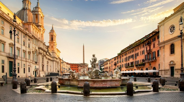 Departure Graf: Thanksgiving in Italy