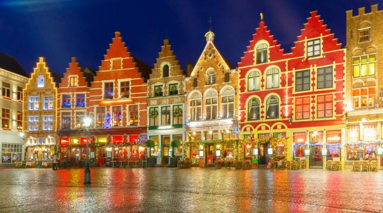 Bruges Christmas.Departure Graf Bruges Christmas Market Explore Europe