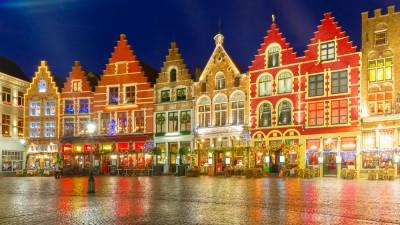 Departure Graf: Bruges Christmas Market
