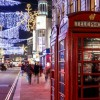 Departure Graf: New Year's Eve in London