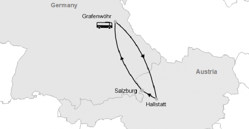 Graf – Hallstatt – Salzburg