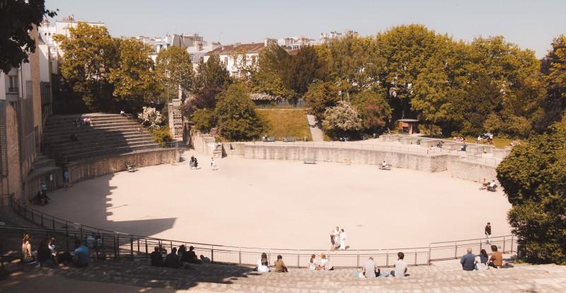 Arènes de Lutèce à Paris