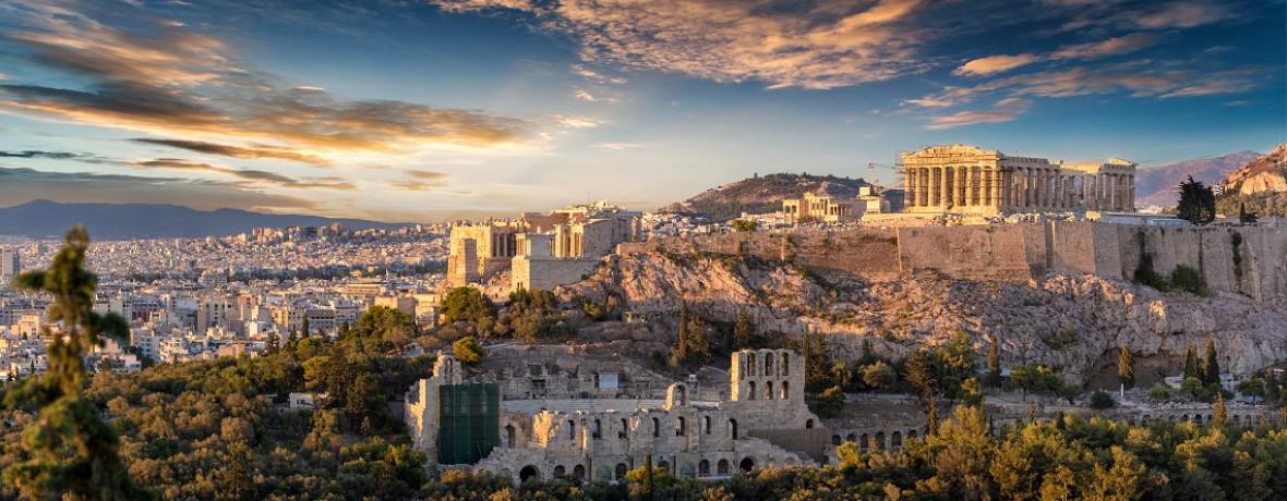 Departure Frankfurt Airport: Athens & the Greek Islands (by air)