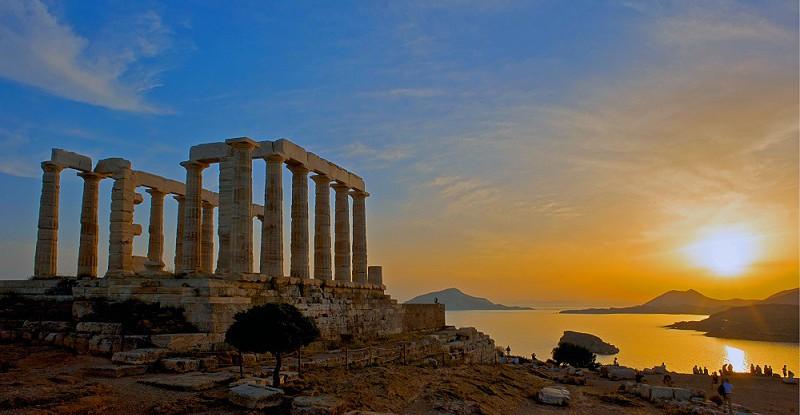 Poseidon, Cape Sounion in Greece