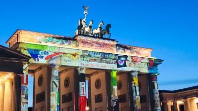 Departure Graf: Berlin Festival of Lights