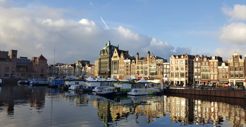 Morning in Amsterdam