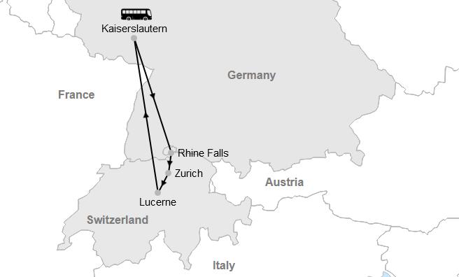 Kaiserslautern - Switzerland