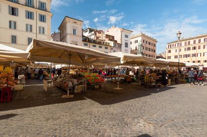 Roma Mercato a Campo dei Fiori