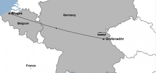 Bruges Christmas Market Explore Europe - Germany map grafenwoehr
