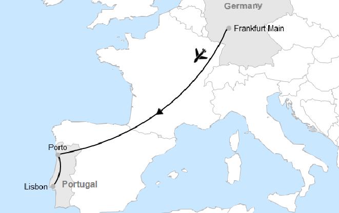 Frankfurt - Porto