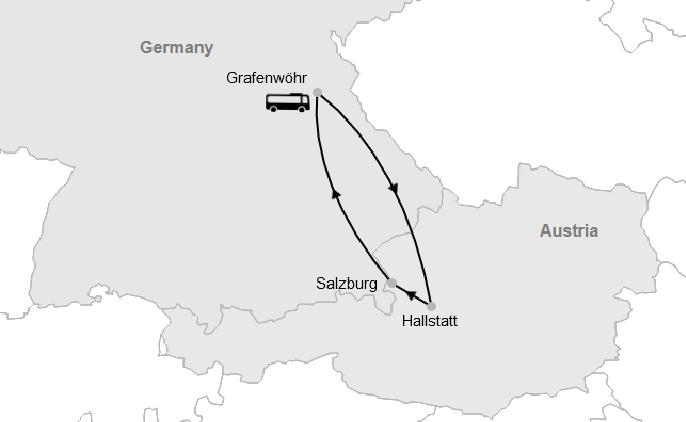 Graf - Hallstatt - Salzburg