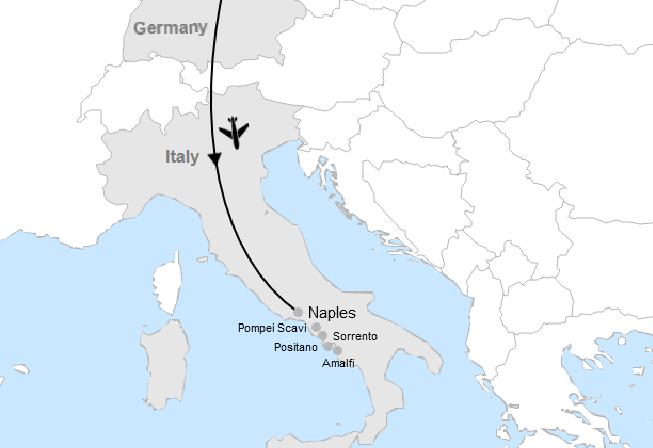 Stuttgart - Amalfi