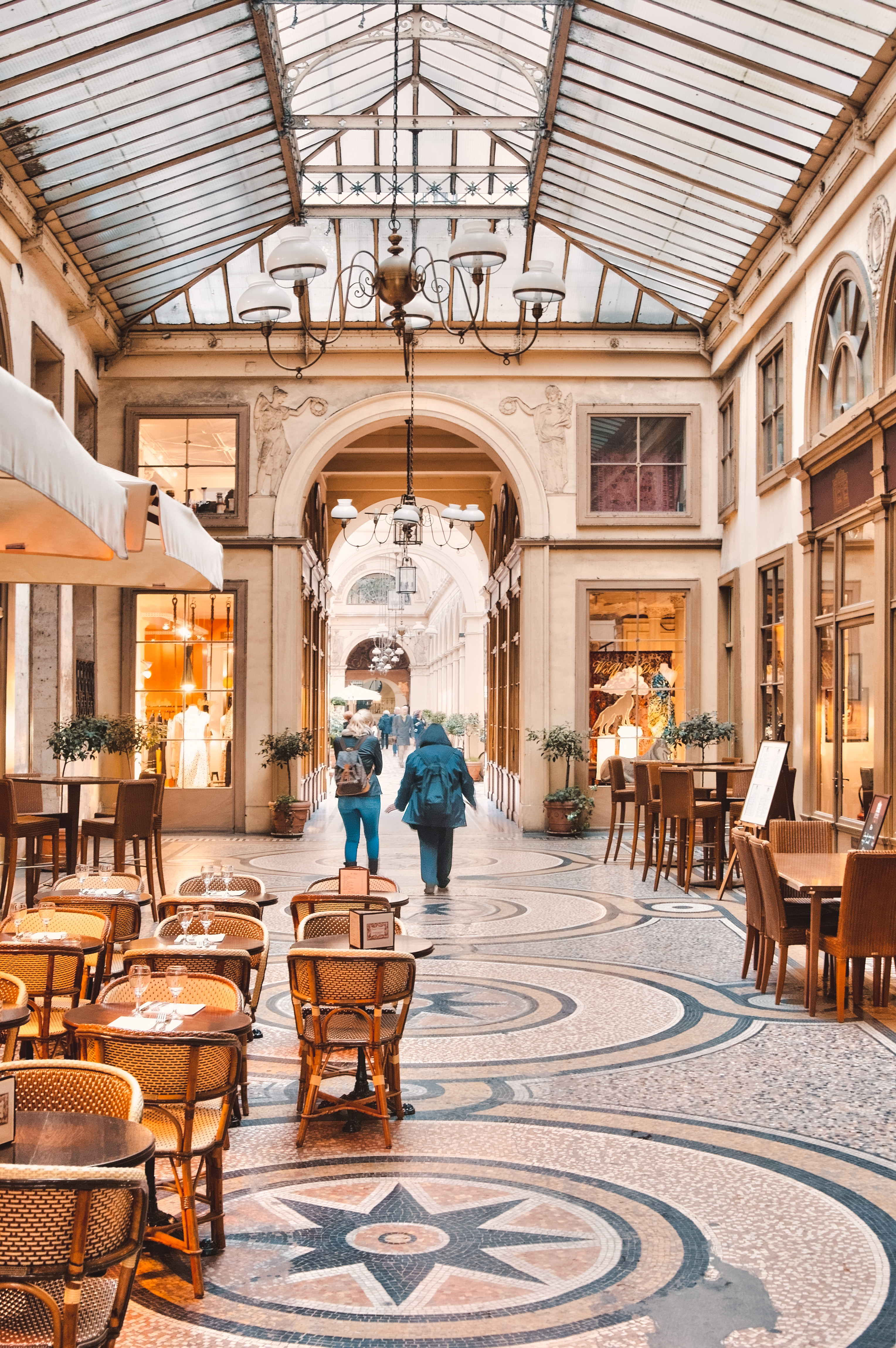 Paris pittoresque - Passage Vivienne