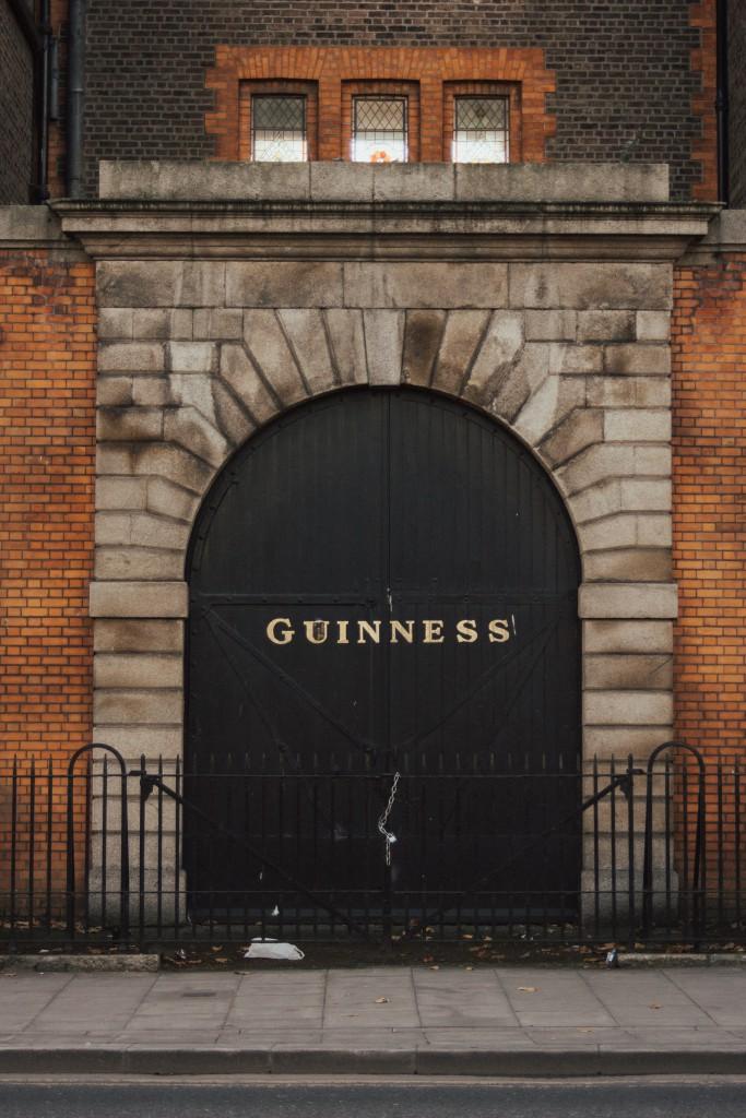 Guinness historical door