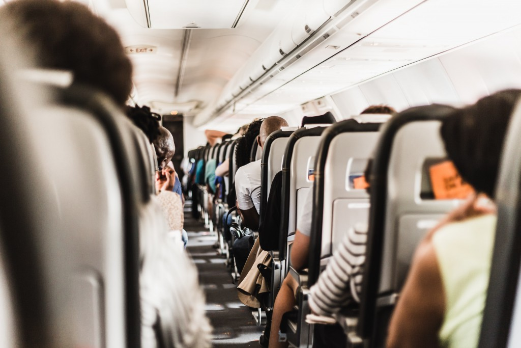 Comfortable planes for our trips by air